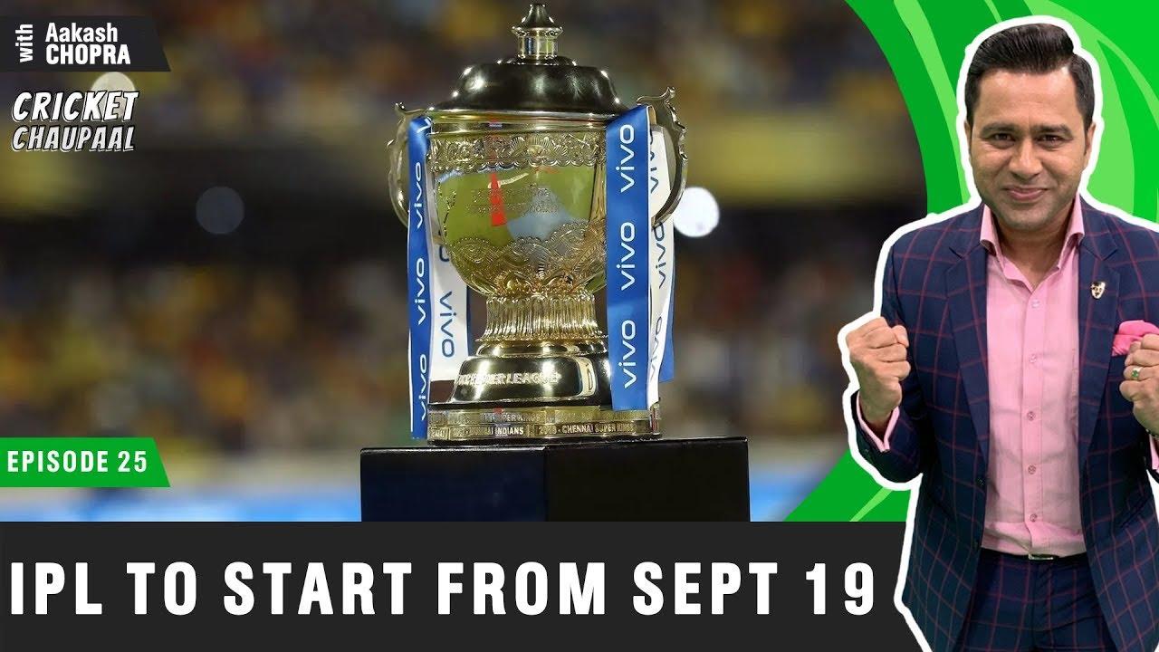 CHEN vs MUM to KICKSTART IPL from SEPT 19  | Betway Cricket Chaupaal E25 | Aakash Chopra