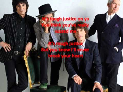 The Rolling Stones - Rough Justice (with lyrics)