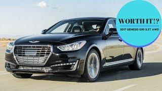 2017 Genesis G90 2017 Genesis G90 3.3T AWD ZUBER CAR. смотреть
