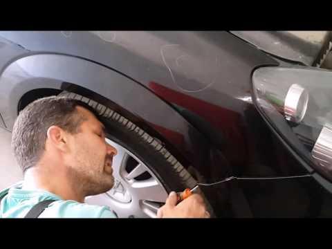 Opel Astra Remove The Front Bumper- астра снимаем передний бампер