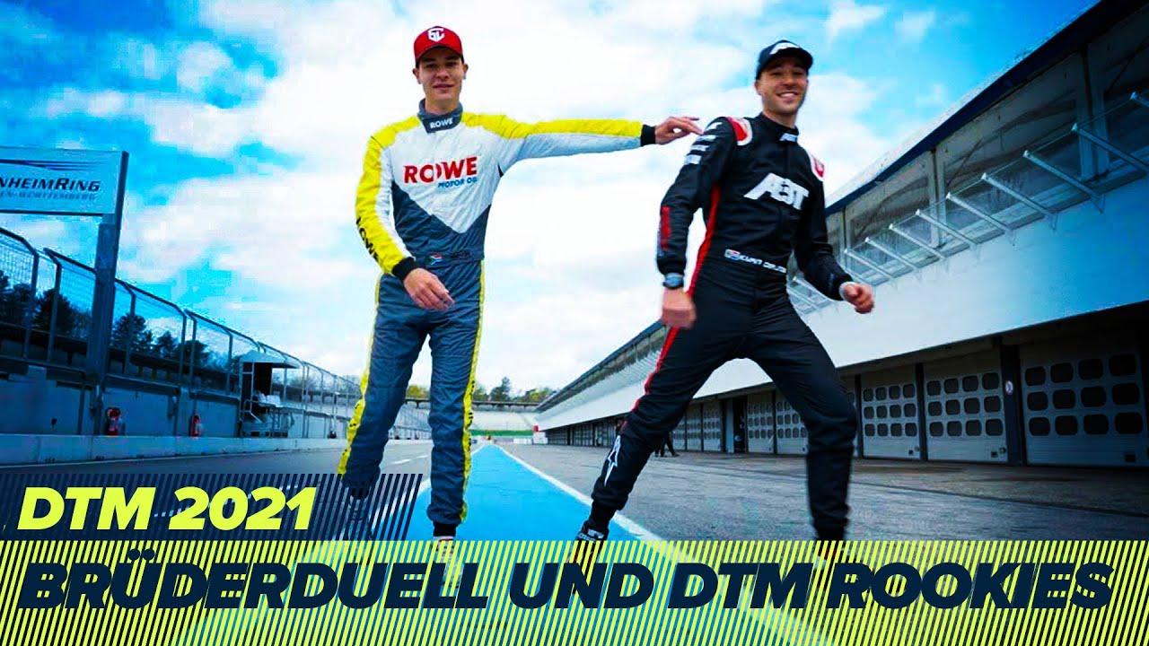 Brüder-Duelle und internationale DTM Rookies bei den Testtagen 2021