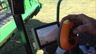 s670 combine 640fd draper head calibration