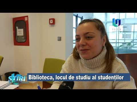 TeleU: Biblioteca, locul de studiu al studenților