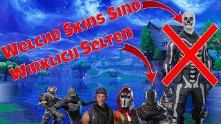 Which FORTNITE skins are really RARE?? | I TELL YOU | Fortnite Battle Royal