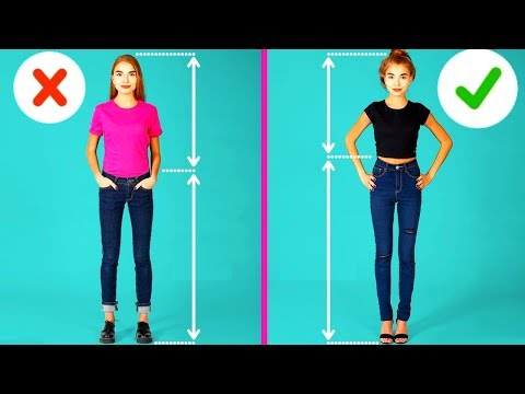 7Ways toLook Taller and Slimmer