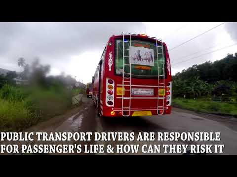 KSRTC VS PRIVATE BUS TRAFFIC RACE|MUST WATCH