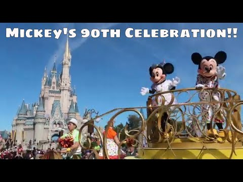 Mickey's 90th Celebration at the Magic Kingdom!! - Magical Mondays #81 - Walt Disney World 2019
