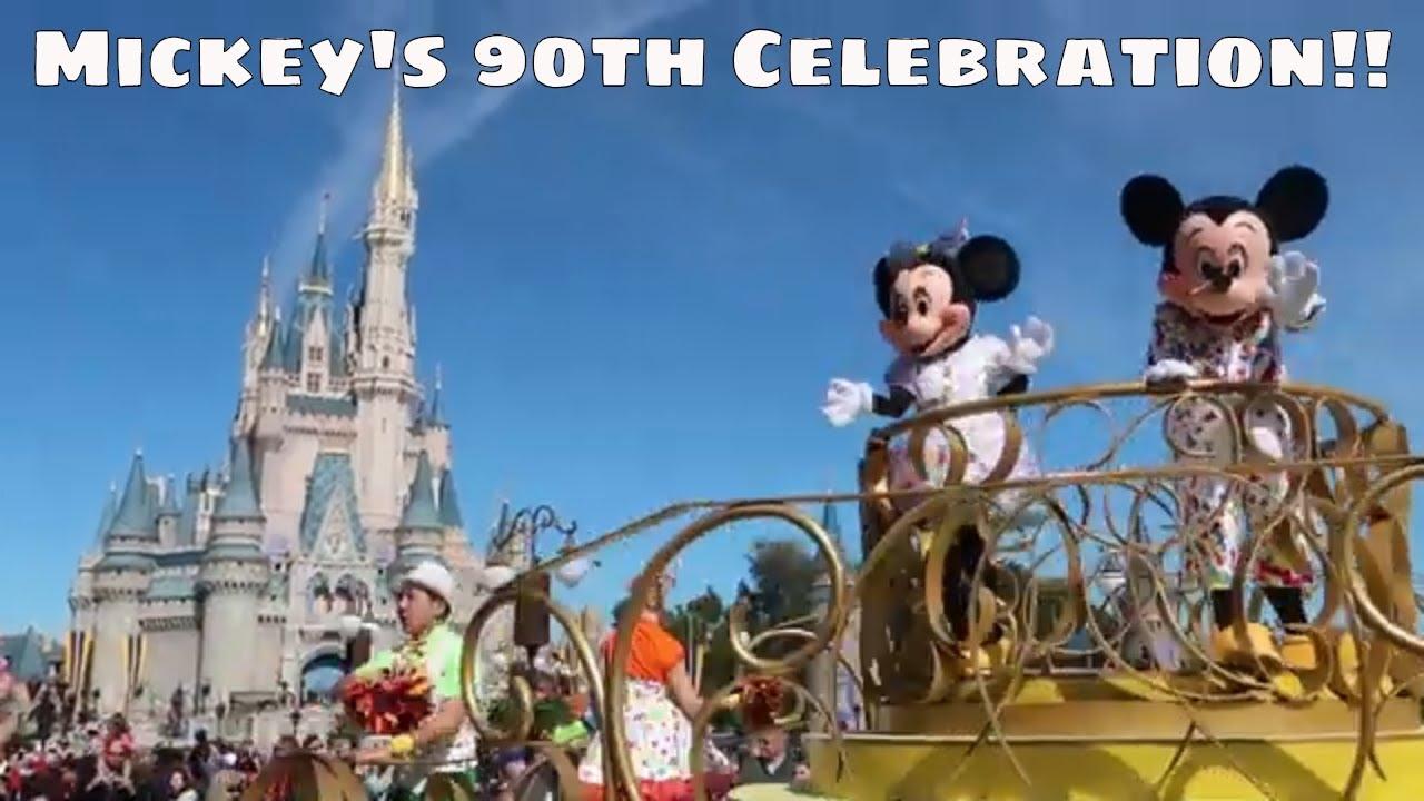 Mickey's 90th Celebration at the Magic Kingdom!! - Magical Mondays #81 -  Walt Disney World 2019