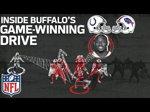 How LeSean McCoy & the Bills Dashed Through the Snow on their Game-Winning Drive | NFL Highlights
