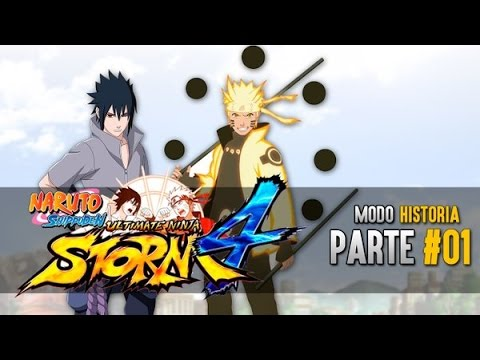 Naruto Shippuden Ultimate Ninja Storm 4 Audio latino Parte 1