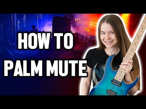 How To Palm Mute (Beginner Guitar Lesson)