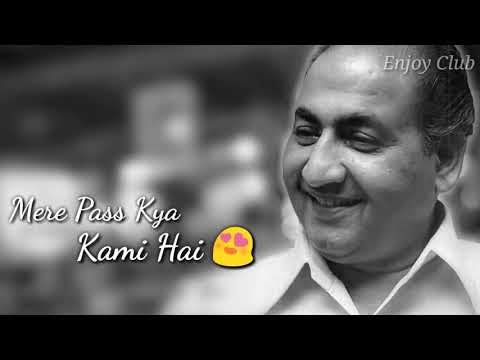 Mohd rafi Old is gold status for whatsaap