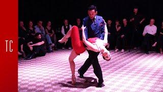 Tango: Laura D'Anna y Sebastián Acosta, 7/12/2017, Patio de Tango 2/4