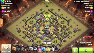 [Clash Of Clans] | Shattered GoHo | Surgical | TH9 | 3stars #007