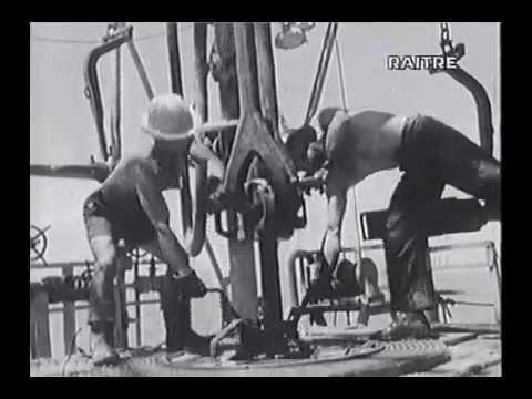 Gela 1959   Perforazione pozzi a mare