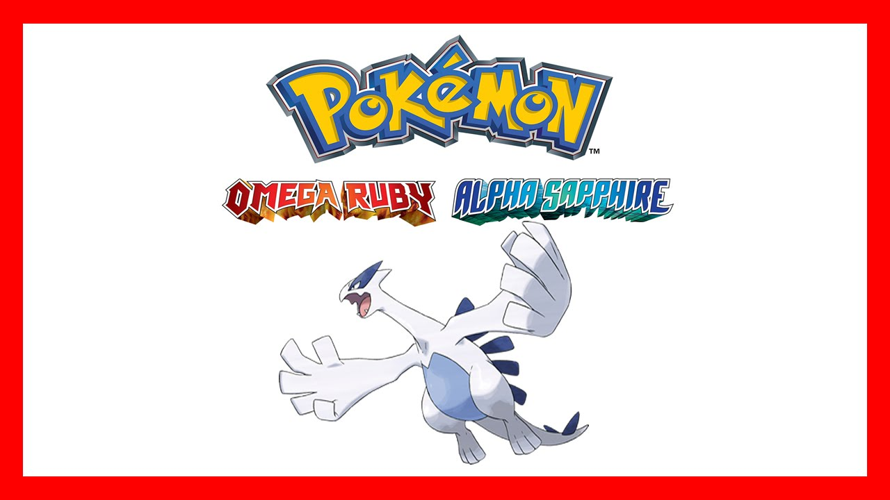 How To Get Lugia Pokemon Alpha Sapphire Amp Omega Ruby