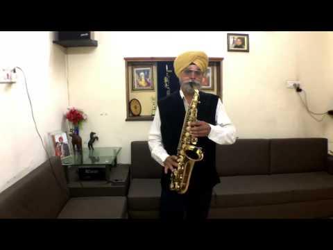Jaoon Kahan Bata Aye Dil / Saxophone Cover / Manjit Singh