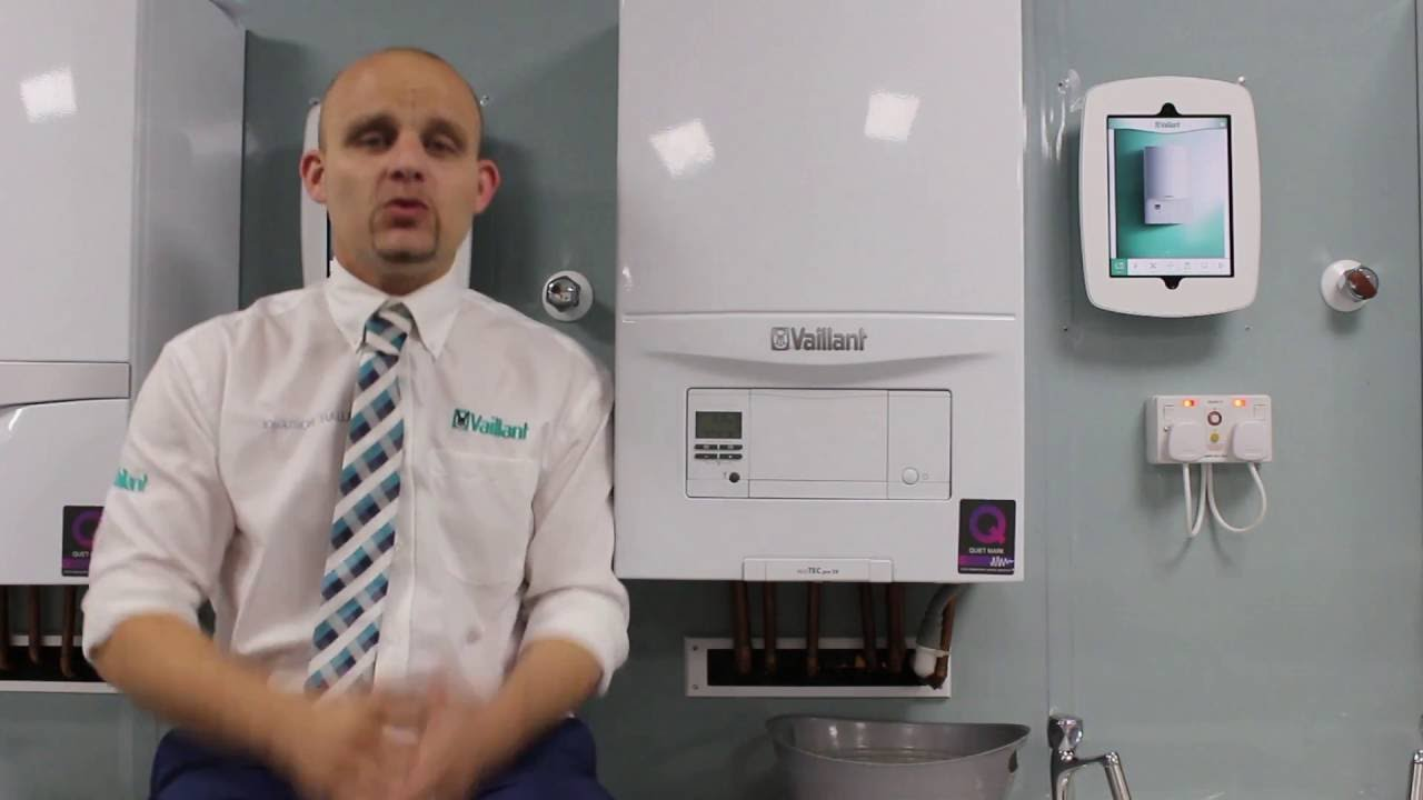 How To Pressurise An Ecotec Pro Boiler Youtube Vaillant System Wiring Diagram