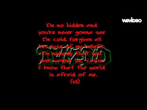 Twiztid Afraid of Me lyrics