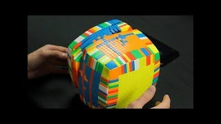 Solving the Biggest Rubik's Cube in the World | 17x17x17 Cube