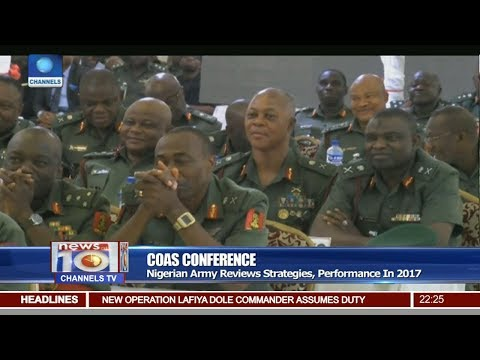 Nigerians Army Reviews Strategies, Performance In 2017 Pt 2 | News@10 |
