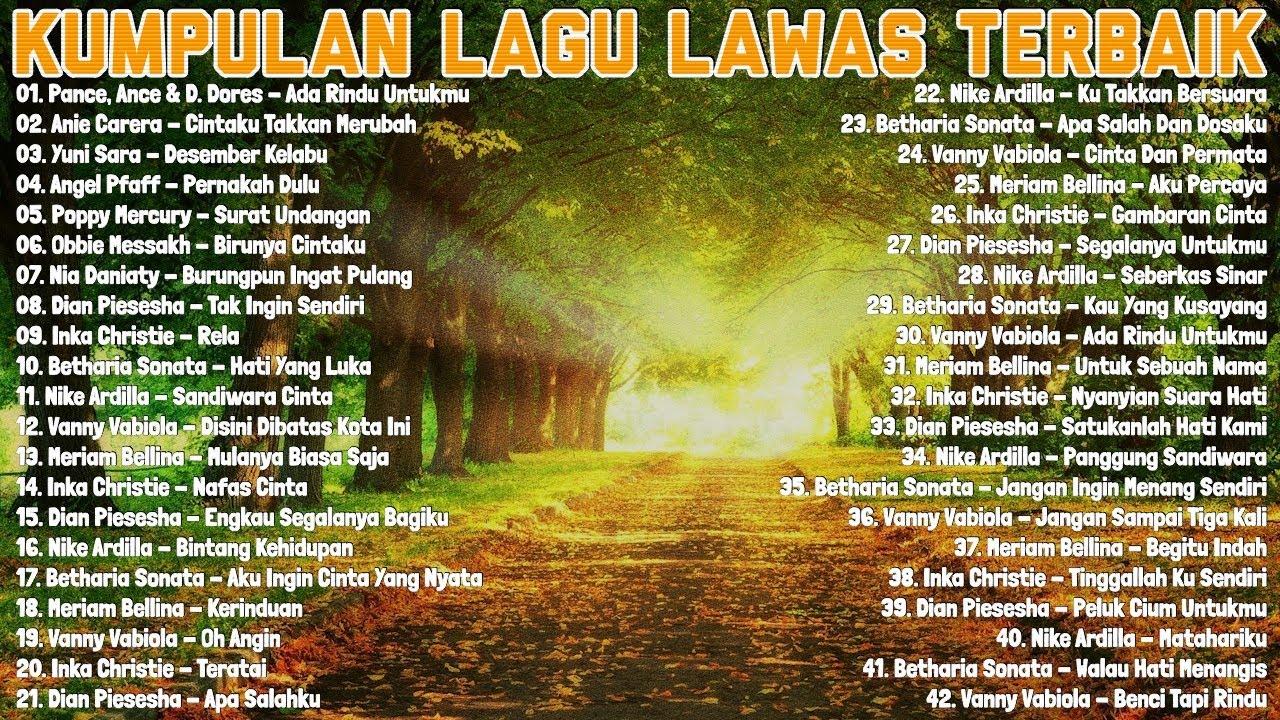 Download Kumpulan Lagu Lawas Indonesia Terbaik - Tembang Kenangan Terpopuler Terbaik Sepanjang Masa
