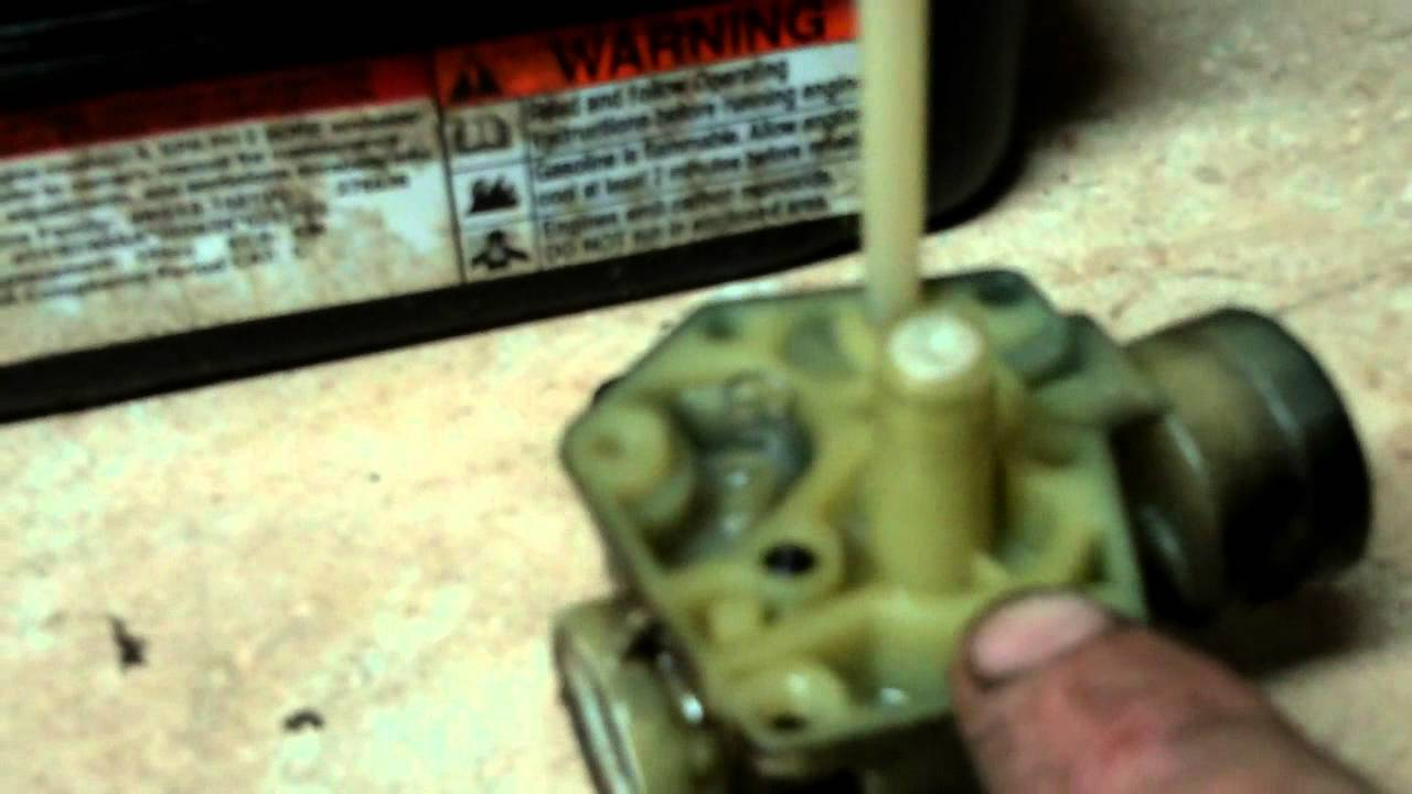 hight resolution of lawn mower repair how to rebuild the carb on a 3 5 hp briggs and stratton pulsa jet carburetor