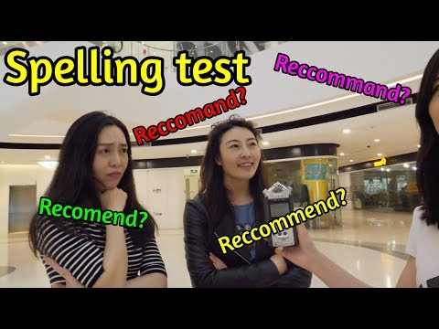 How Good Are Chinese People at English? **TEST!| Domino Asks