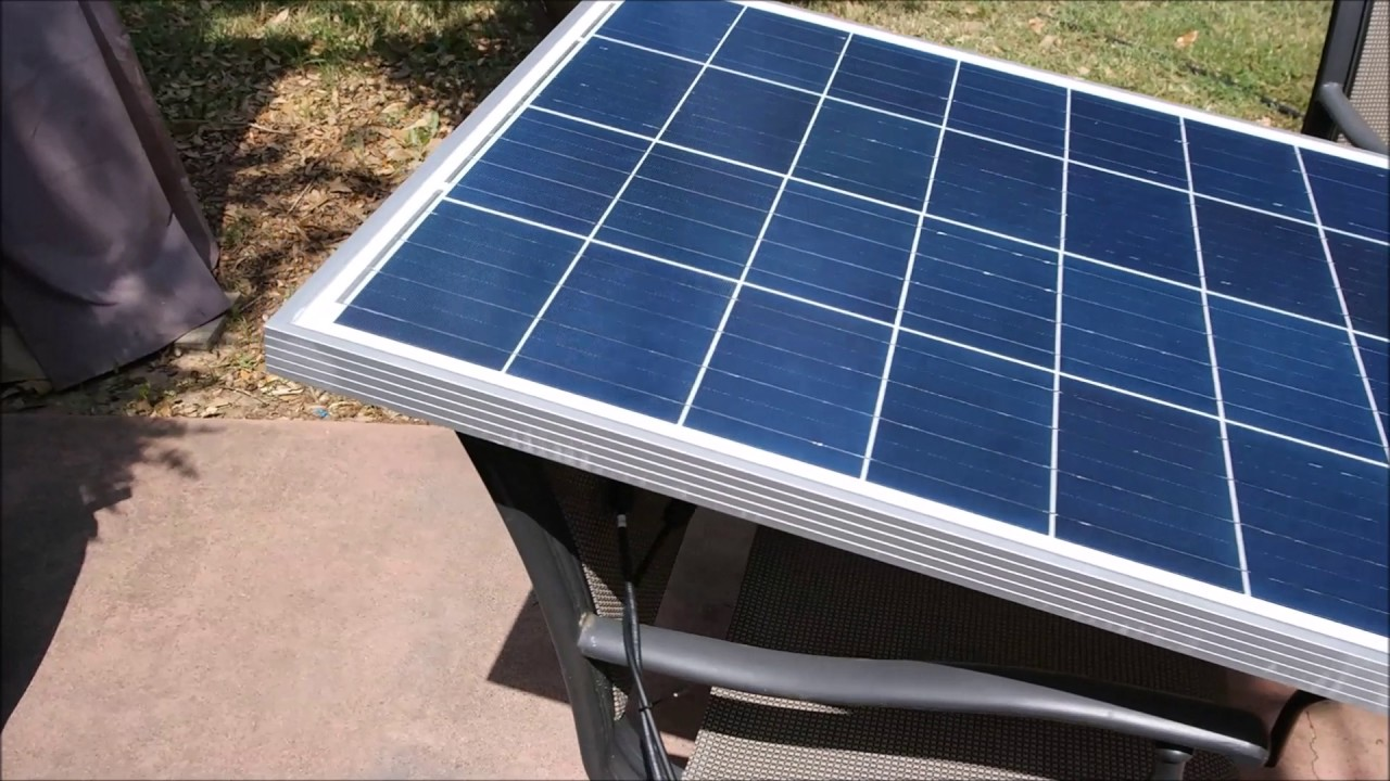 Hqst 100 Watt 12 Volt Polycrystalline Solar Panel Review