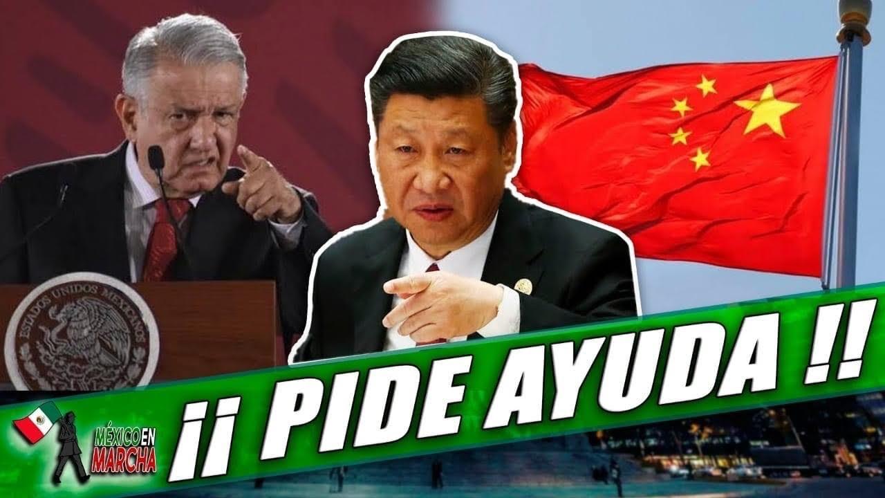 AMLO Se Entera Que Lo Quieren Tumbar y Anuncia Q Viajará a China Para Buscar Ayuda Del Presidente!