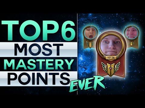 Top 6 Most Mastery Points Ever - Der größte Suchti der Welt!