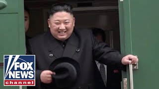 Kim Jong Un arrives in Russia ahead of first meeting with Putin