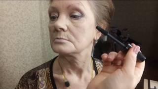 Возрастной макиж. Лифтинг макияж.Макияж 65+