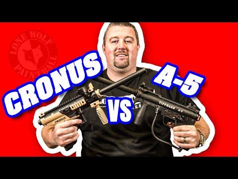 Tippmann Cronus Vs Tippmann A-5 | Paintball Gun Comparison | Lone Wolf Paintball Michigan