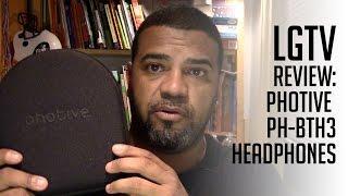 Photive PH-BTH3 Over-The-Ear Wireless Bluetooth Headphones 🎧: LGTV Review
