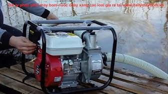 Máy bơm nước chạy xăng, Máy bơm nước chạy động cơ xăng Honda giá rẻ TP.HCM