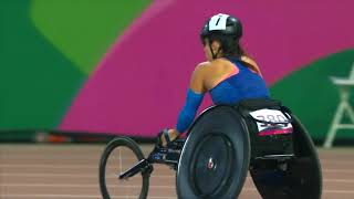 Team USA sweeps Women's T54 800m  | Parapan American Games Lima 2019