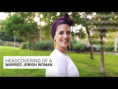 Unique Headdress In Israel