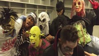 Así fue la fiesta de Halloween del Barça en Getafe