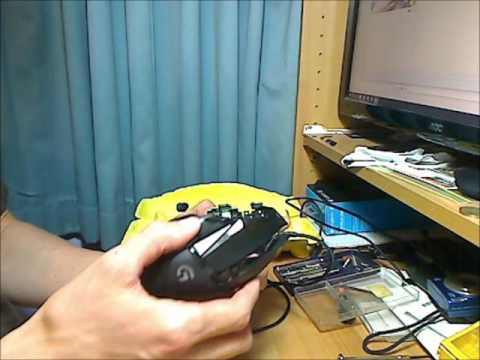 82ceb3ecabb logitech g502 mouse disassembly and scroll wheel balancing - YouTube