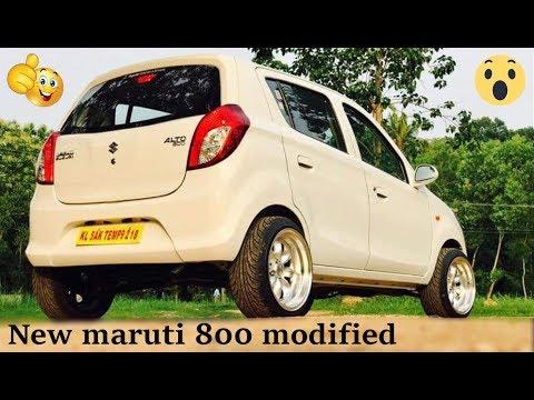 New maruti 800 modified 15 inch alloys 2018 # Wonderful design # CAR