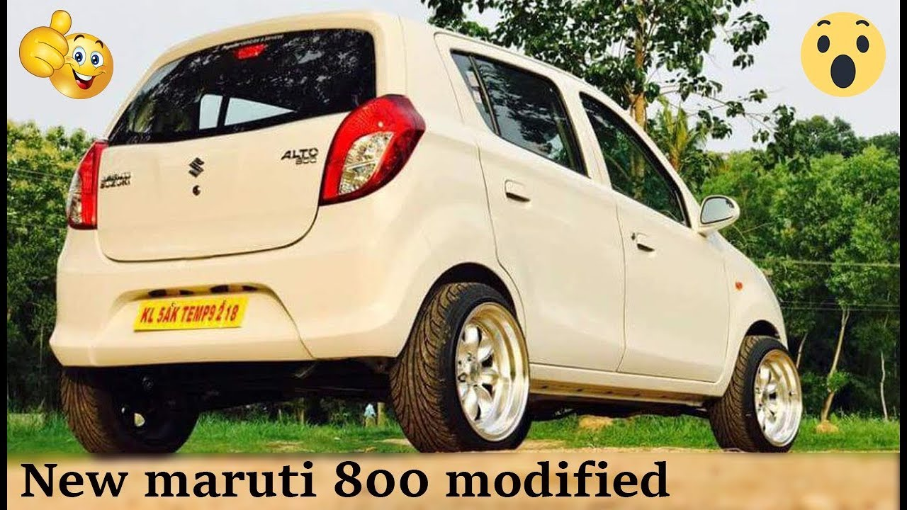New Maruti 800 Modified 15 Inch Alloys 2018 Wonderful Design Car
