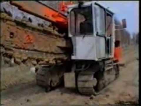 Экскаватор траншейный цепной ЭТЦ-250