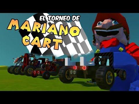 EL TORNEO DE MARIANO CART! Scrap Mechanic  en Español - GOTH