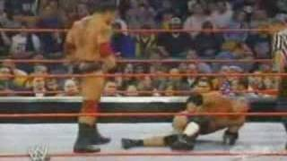 WWE RAW BATISTA VS GOLDBERG