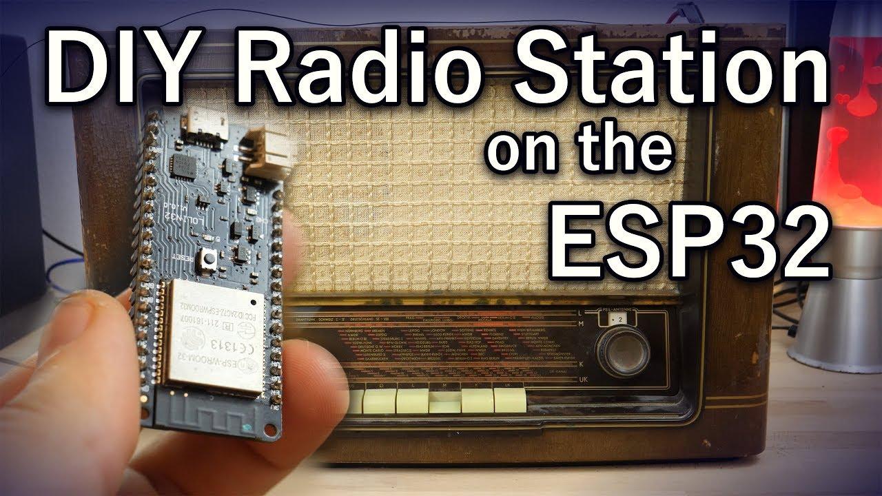 ESP32 Makes For World's Worst Radio Station | Hackaday