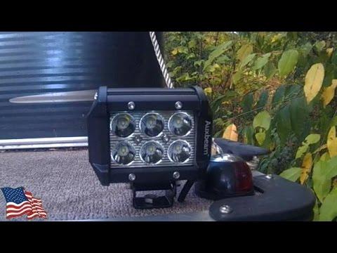 Installing Docking Lights On Our Qwest Pontoon Boat Youtube