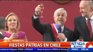 Con tradicionales fondas Chile celebró las fiestas patrias