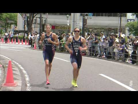 Triathletes chase direct Olympic qualification berths in Tokyo test event