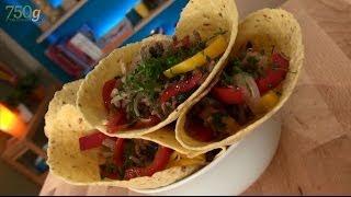 Recette de Fajitas à la viande hachée - 750 Grammes